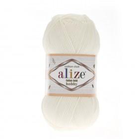 Alize Cotton Gold Hobby Amigurumi El Örgü İpi 50gr - Açık Krem
