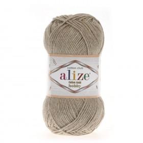 Alize Cotton Gold Hobby Amigurumi El Örgü İpi 50gr - Bej Melanj