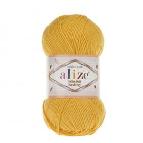 Alize Cotton Gold Hobby Amigurumi El Örgü İpi 50gr - Koyu Sarı