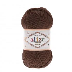 Alize Cotton Gold Hobby Amigurumi El Örgü İpi 50gr - Kahve