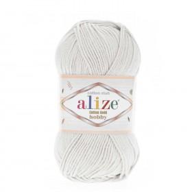 Alize Cotton Gold Hobby Amigurumi El Örgü İpi 50gr - Pastel Gri