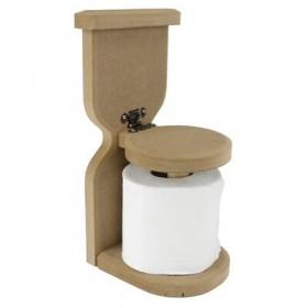 WC Tuvalet Kağıtlığı Ahşap Obje
