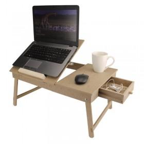 Laptop Sehpası Ayarlanabilir Ahşap Obje