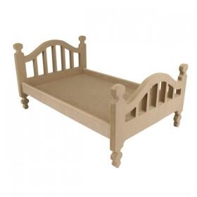 Oyuncak Bebek Yatağı Ahşap Obje (Demonte) 50cm