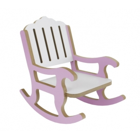 Sallanan Sandalye Pembe 23x20x11cm