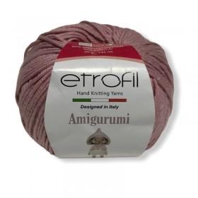 Etrofil AMiGURUMi El Örgü İpi 50gr - 73079 PUDRA PEMBE