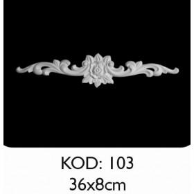 Rich Esnek Aplik Dekoratif Obje Kod 103