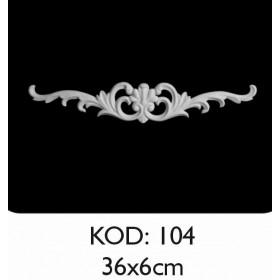 Rich Esnek Aplik Dekoratif Obje Kod 104