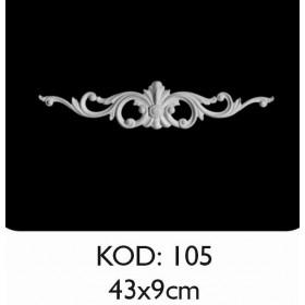 Rich Esnek Aplik Dekoratif Obje Kod 105