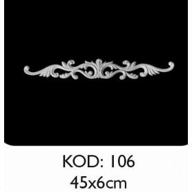 Rich Esnek Aplik Dekoratif Obje Kod 106