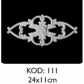 Rich Esnek Aplik Dekoratif Obje Kod 111