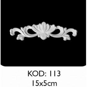 Rich Esnek Aplik Dekoratif Obje Kod 113