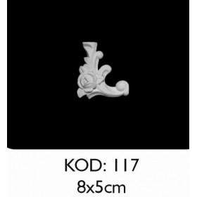 Rich Esnek Aplik Dekoratif Obje Kod 117