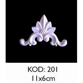 Rich Esnek Aplik Dekoratif Obje Kod 201