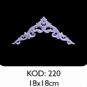Rich Esnek Aplik Dekoratif Obje Kod 220