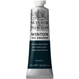 PHTHALO DEEP GREEN Winsor & Newton Winton Yağlı Boya 37 ml.