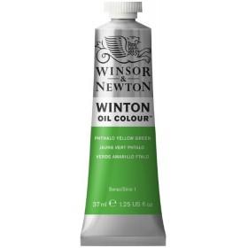 PHTHALO YELLOW GREEN Winsor & Newton Winton Yağlı Boya 37 ml.