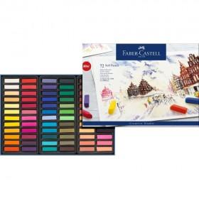 Faber Castell Creative Studio Toz Pastel Boya 72 Renk Yarım Boy