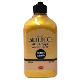 Artdeco Metalik Akrilik Boya ALTIN 3721 - 500ml