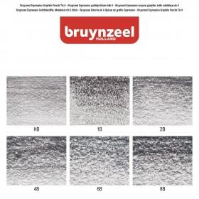 "Bruynzeel Expressıon Grafite Kalem Seti 6""lı"