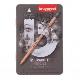 Bruynzeel Expression Grafit Kalemi 12'li Set