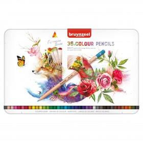 Bruynzeel Expression Colour Kuru Boya Kalem Seti 36lı