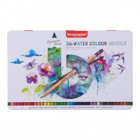 Bruynzeel Expression Aquarelle Kuru Sulu Kalem Boya Seti 36 Renk