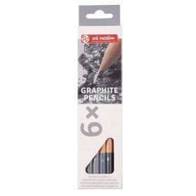 Talens Art Creation Graphite Pencils Dereceli Çizim Seti 6'lı