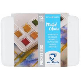 Van Gogh Profesyonel Suluboya 12 Renk Muted Colours