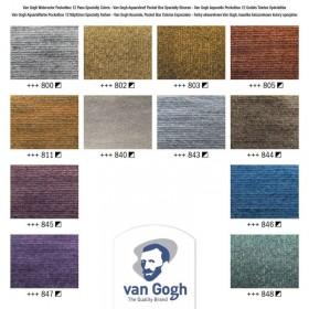 Talens Van Gogh Profesyonel Suluboya 12 Renk Metallic & İnterference Colours