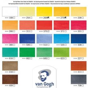 Talens Van Gogh Tablet Sulu Boya 24 Renk