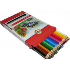 Kohinoor Set of Aquarell Coloured Pencils 3719 36 Fish