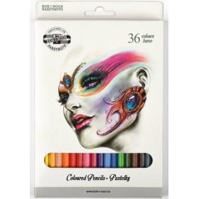 Kohinoor Fantasy School Renkli Kalemler 36'lı Set 3555