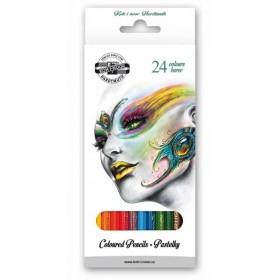 Kohinoor Fantasy School Renkli Kalemler 24'lü Set 3554