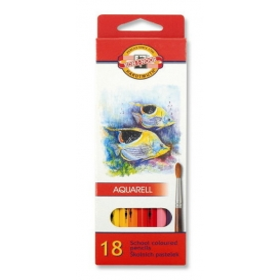 Kohinoor Set of Aquarell Coloured Pencils 3717 18 Fish