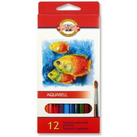 Kohinoor Set of Aquarell Coloured Pencils 3716 12 Fish