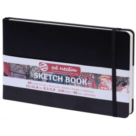 Talens Art Creation Sketchbook Siyah 14,8 x 21 cm, 140 g, 80 Yaprak
