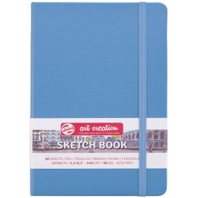 Talens Art Creation Sketchbook Lake Blue 13 x 21 cm, 140 g, 80 Yaprak