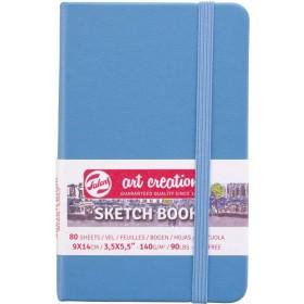 Talens Art Creation Sketchbook Lake Blue 9 x 14 cm, 140 g, 80 Yaprak
