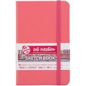 Talens Art Creation Sketchbook Mercan Kırmızısı 9 x 14 cm, 140 g, 80 Yaprak