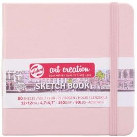 Talens Art Creation Sketchbook Pastel Pembe 12 x 12 cm, 140 gr, 80 Yaprak