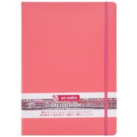 Talens Art Creation Sketchbook Mercan Kırmızısı 21 x 30 cm, 140 g, 80 Yaprak