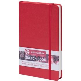 Talens Art Creation Eskiz Defteri Kırmızı 13 x 21 cm, 140 g, 80 Yaprak