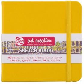 Talens Art Creation Sketchbook Altın Sarısı 12 x 12 cm, 140 g, 80 Yaprak