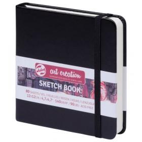 Talens Art Creation Sketchbook Siyah 12 x 12 cm, 140 g, 80 Yaprak
