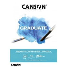 Canson Graduate A5 250 gr Sulu Boya Defteri