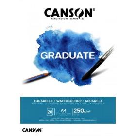 Canson Graduate Suluboya Defteri 250gr A4