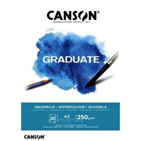 Canson Graduate Suluboya Defteri A3 250 gr