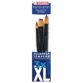 Talens Art Creation 3'lü Suluboya Fırça Seti XL (Extra Large)