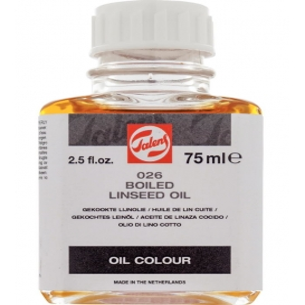 Talens Boiled Linseed Oil 026 Kaynatılmış Keten Yağı 75ml